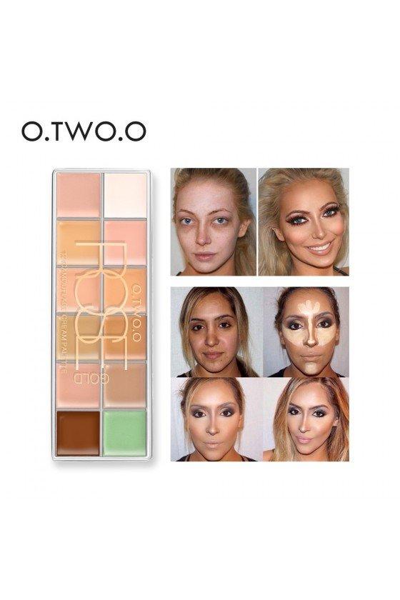 Palette pro correcteur contouring O.TWO.O
