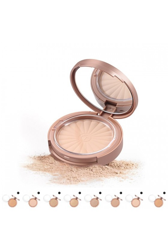 Poudre Compacte Radiance Rose Gold O.TWO.O