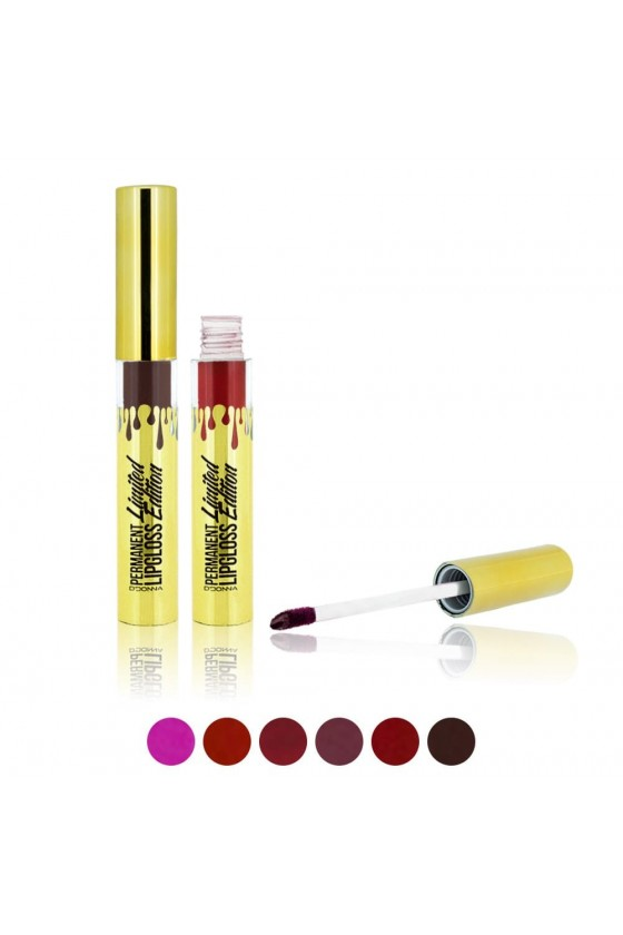 Lip Gloss Permanent Edition Limited Gold