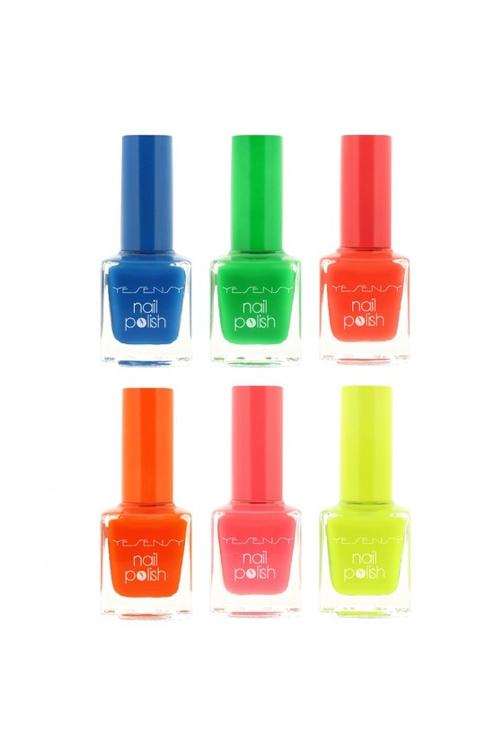 Lot de 6 vernis flashy
