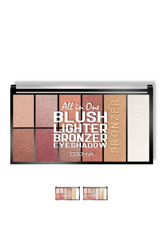 "Palette maquillage tout en un ""All in One"""