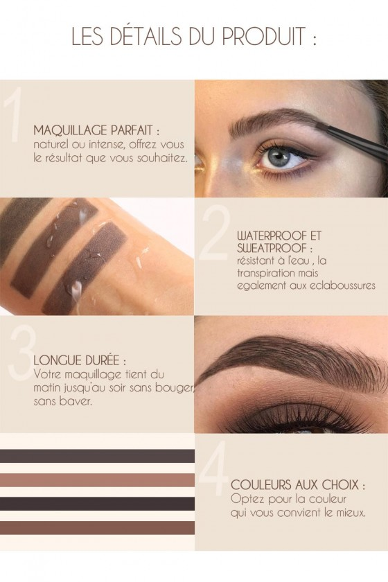 Crayon à sourcils waterproof