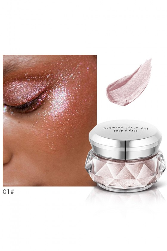 highlighter creme : Glowing Jelly Gel Visage et corps